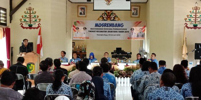 Perencanaan Program Pembangunan Harus Fokus, Terarah dan Terukur