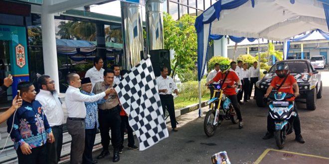 PLN BLITS Explore Indonesia Tiba di Palangka Raya
