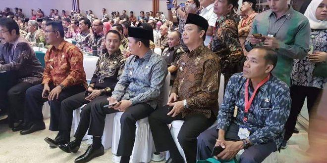 Walikota Fairid Hadiri Rakernas Indonesia Bersih