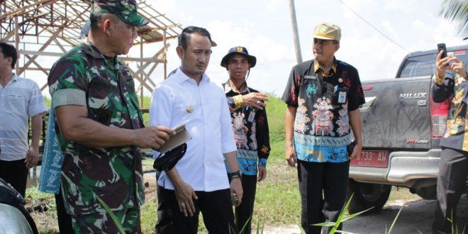Walikota Meninjau Keadaan Drainase Jalan Sakan