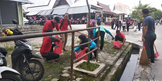 Aksi Kebersihan Berdampak pada Lingkungan