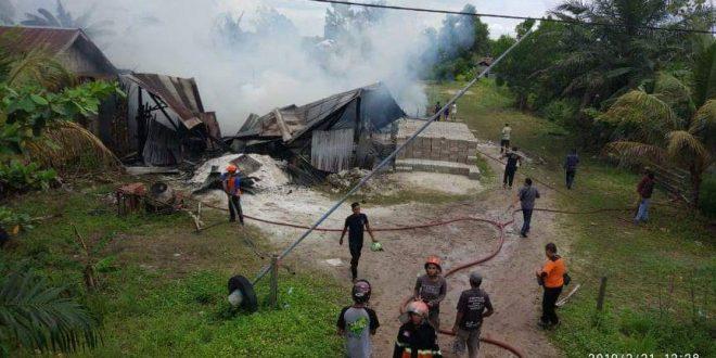Rumah Warga Mahir Mahar Terbakar
