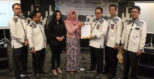 DPT Kalteng untuk Pemilu 2019 Ditetapkan 1.766.136 Jiwa