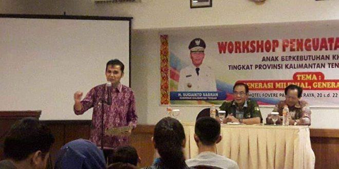 Semangat Penguatan Literasi Siswa SLB Kalimantan Tengah