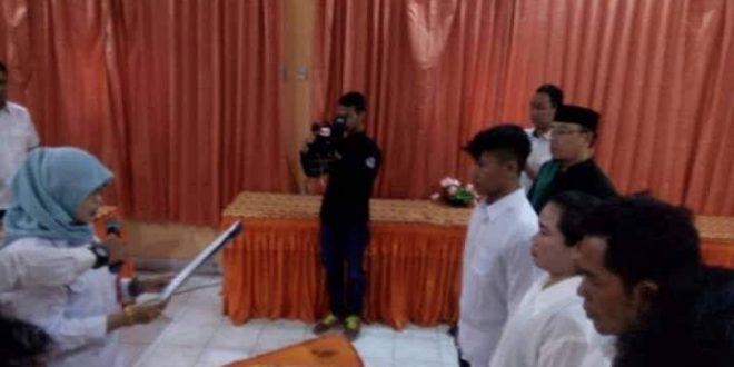 KPU Palangka Raya Lantik PAW Tiga Anggota PPS