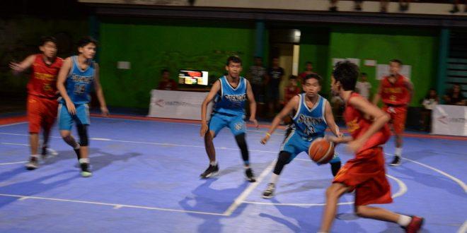 "Antusias peserta  mengikuti pertandingan Basketball ""three x three"" Challenge 2019"