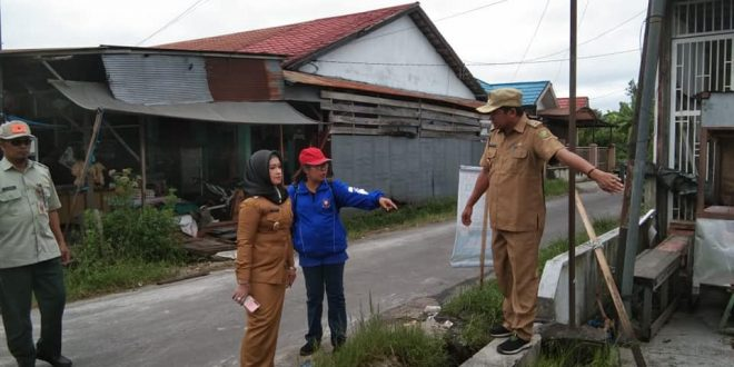Wakil Walikota Umi Tinjau Pembersihan Drainase