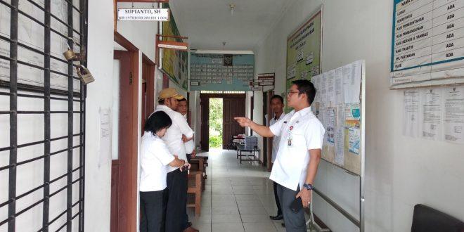 Inspektorat Palangka Raya Sidak ke Kantor Kelurahan