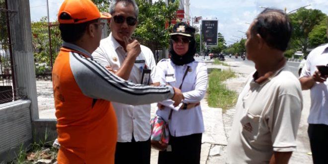 Penyisiran Titik Lokasi  Jalan  RTA Milono dan Antang Kalang
