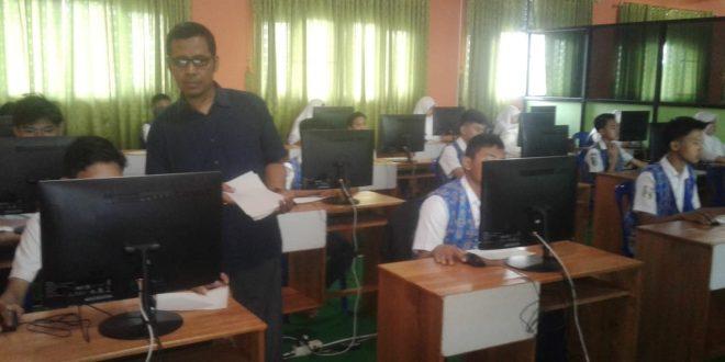 Simulasi UNBK di SMP Muhammadiyah