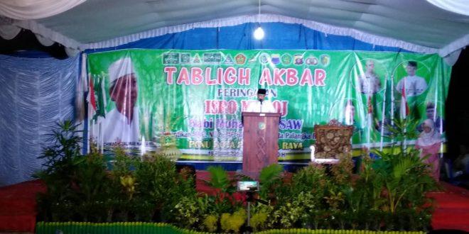 Tablig Akbar Peringatan Isra Mi'raj Nabi Muhammd SAW 1440 H.