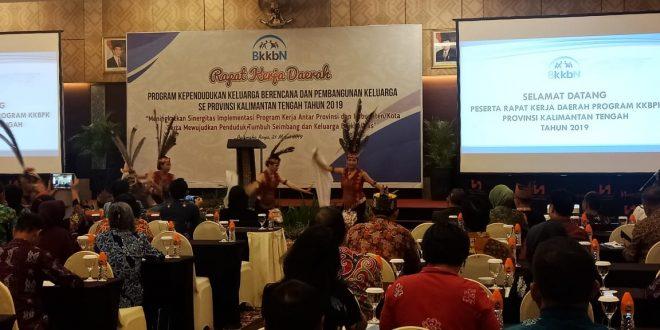Raker BKKBN Kalteng, Bukan Soal Pengendalian Penduduk Saja