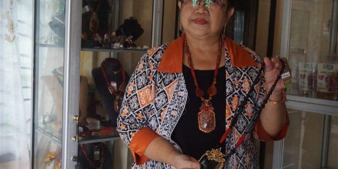 Pengrajin Lilis Lamiang Sambut Baik Hadirnya Kelompok Informasi Masyarakat