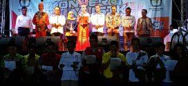 KPU Sosialisasikan Kepemiluan  Berkolaborasi Dengan Konser Musik