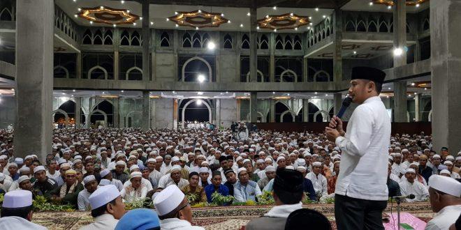 Fairid Hadir pada Tabligh Akbar di Masjid Kecubung