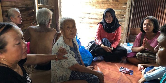 Dinsos Home Visit Lansia Tuna Netra, Rungu dan Wicara