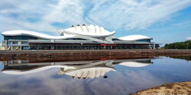 28 Maret 2019 Terminal Baru Bandara Tjilik Riwut Operasional