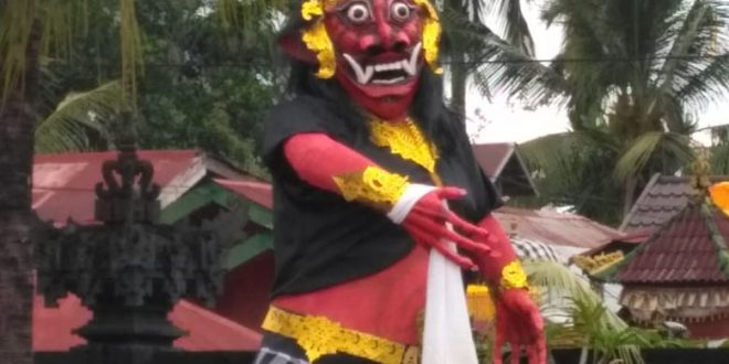 Kepribadian Bhuta Kala Digambarkan dengan Ogoh-ogoh