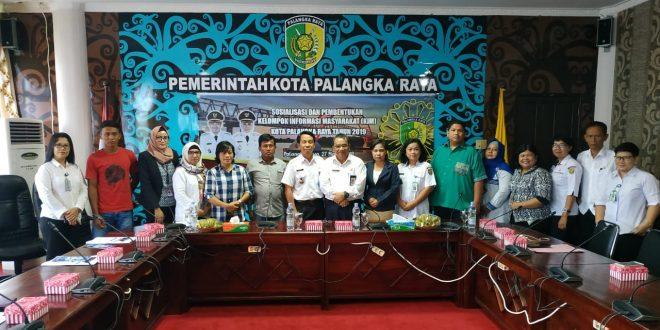 Pengembangan dan Pemberdayaan KIM Kota Palangka Raya.