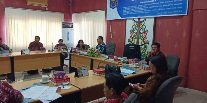 ASDEKSI Regional Kalimantan Tengah Rakorda Reorganisasi