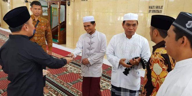 Masjid Al Zaitun Mendapat Bantuan Rp150 Juta dari Gubernur Kalteng
