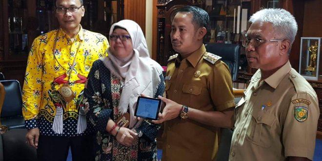 Walikota Sampaikan SPT Lewat E-Filing