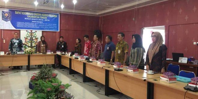 Sekretaris DPRD Kapuas Terpilih Jadi Ketua ASDEKSI Regional Kalteng