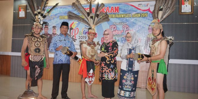 Pemko Apreasiasi Festival Palangka dan Pemilihan Putra Putri Pariwisata Palangka Raya