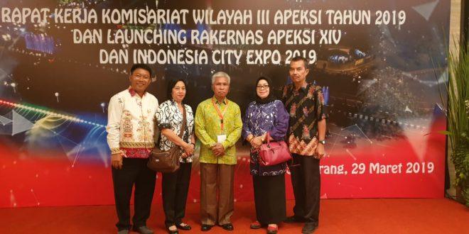Launching Rakernas APEKSI XIV Dan Indonesia City Expo 2019