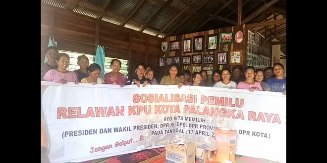 Genjot Partisipasi Pemilih, Relawan KPU Sasar Daerah Pelosok