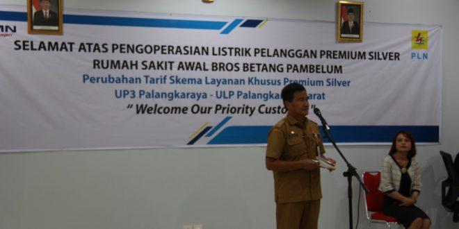 RS Awal Bros Betang Pambelum Jadi Pelanggan Premium PT.PLN Wilayah Kalselteng