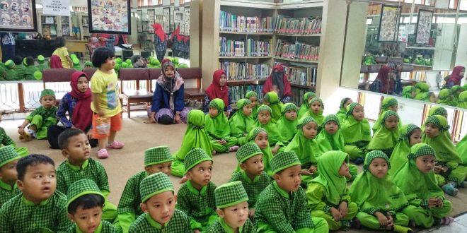 Perpustakaan Jadi Favorit Kunjungan Anak TK