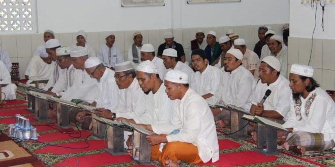Warga Binaan Lapas Kelas II A Peringati Isra  Mi'raj di Masjid AL-Istighfar
