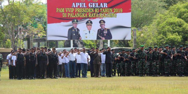 Apel Gelar Pasukan Pengamanan VVIP Presiden Republik Indonesia