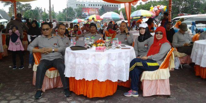 Pemilu Run Palangka Raya diminati warga