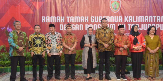 Ramah Tamah Pangdam XII Tanjungpura di Istana Isen Mulang