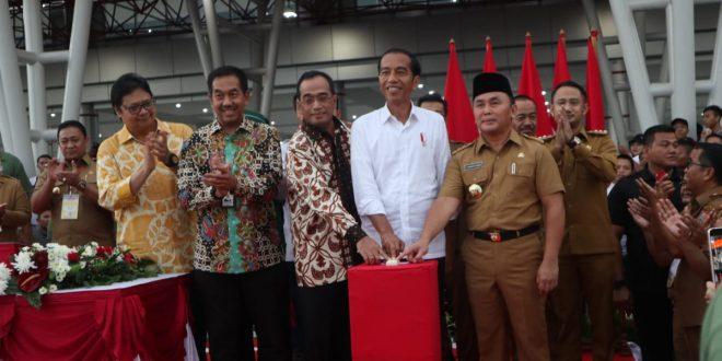Presiden Resmikan Bandara Tjilik Riwut