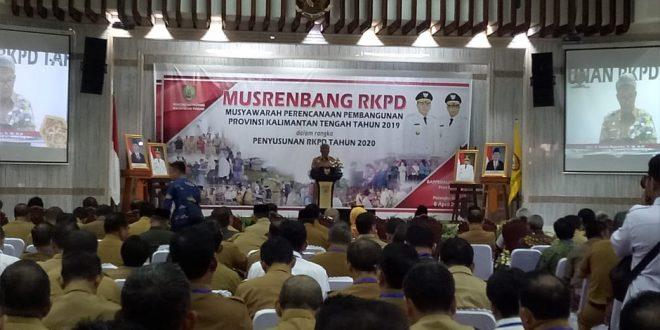 Penyusunan RKPD Provinsi Kalimantan Tengah 2019 Melalui Musrenbang