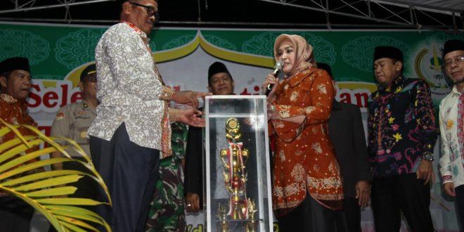 Kecamatan Sabangau Raih Juara Umum STQ Ke VIII
