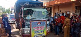 Di Palangka Raya, Logistik Pemilu Didistribusikan ke 894 TPS