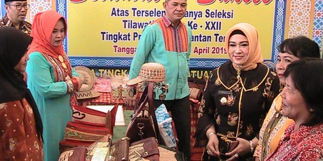 Promosi Produk Unggulan UMKM Pameran dan Pasar Rakyat Kegiatan STQ XXII