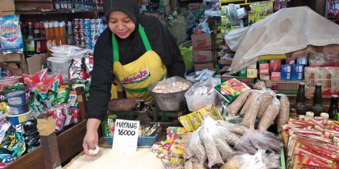 Sejumlah Sembako di Pasar Kahayan Alami kenaikan Jelang Bulan Ramadan