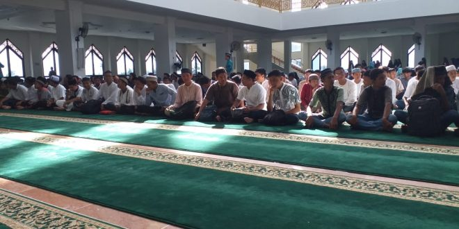 MGMP PAI Gelar Doa Bersama Pelajar SMP se-Kota Palangka Raya