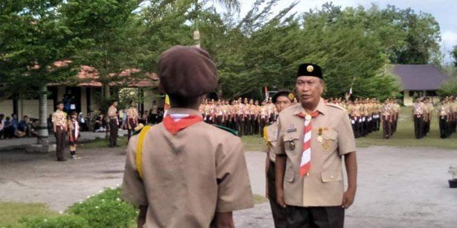Ketua Kwarcab Ajak Pramuka Menjadi Teladan