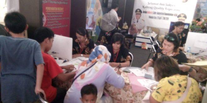Layanan Pembuatan Kartu Identitas Anak Gratis di Kalteng Quality Expo