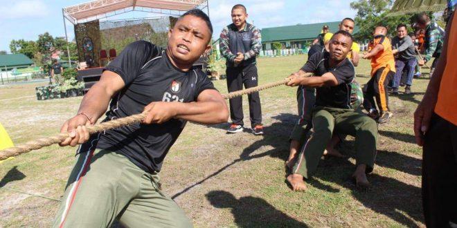Sehat Bersama Prajurit Raider 631 Antang