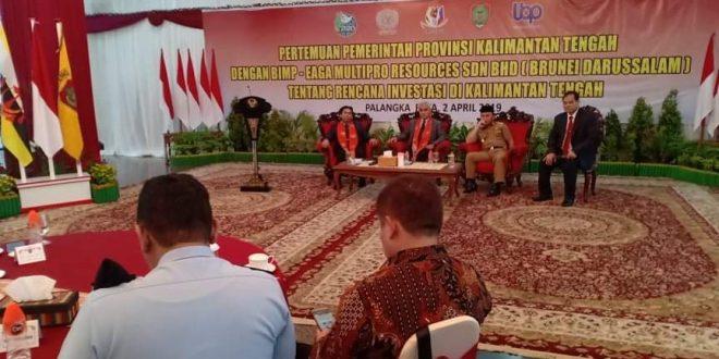 Pengeran Brunei Darussalam Tawarkan Investasi di Kalimantan Tengah