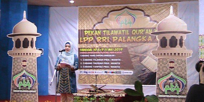 Wawali Palangka Raya Harapkan PTQ  Sukses Sampai Tingkat Nasional