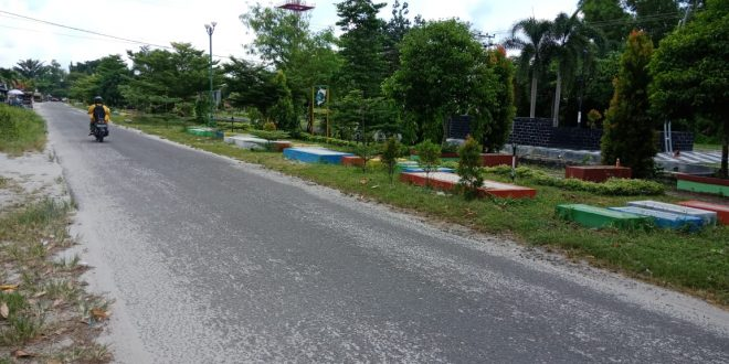 Pembangunan Taman Tak Ganggu Fungsi Trotoar dan Jalan
