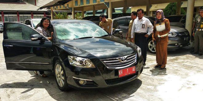 Lelang Mobil KH 1 AU Milik Mantan Walikota Palangka Raya
